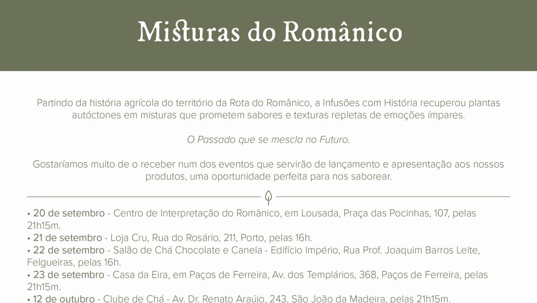Lançamento: Misturas do Românico