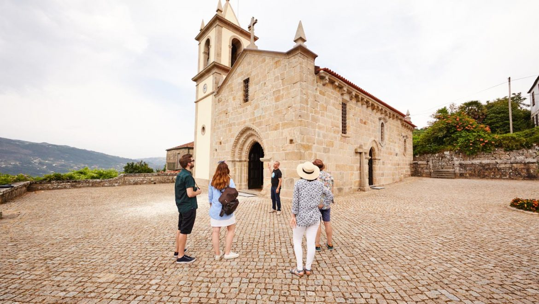 Viaje pela Rota do Românico através de 3 Chás Portugueses