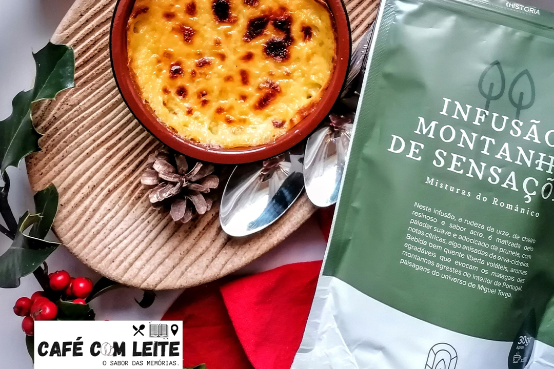 Leite creme aromatizado com Chá de Natal – Um doce maravilhoso