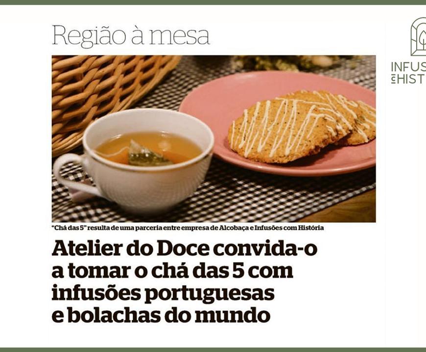 Atelie do Doce – Chá das 5 com História
